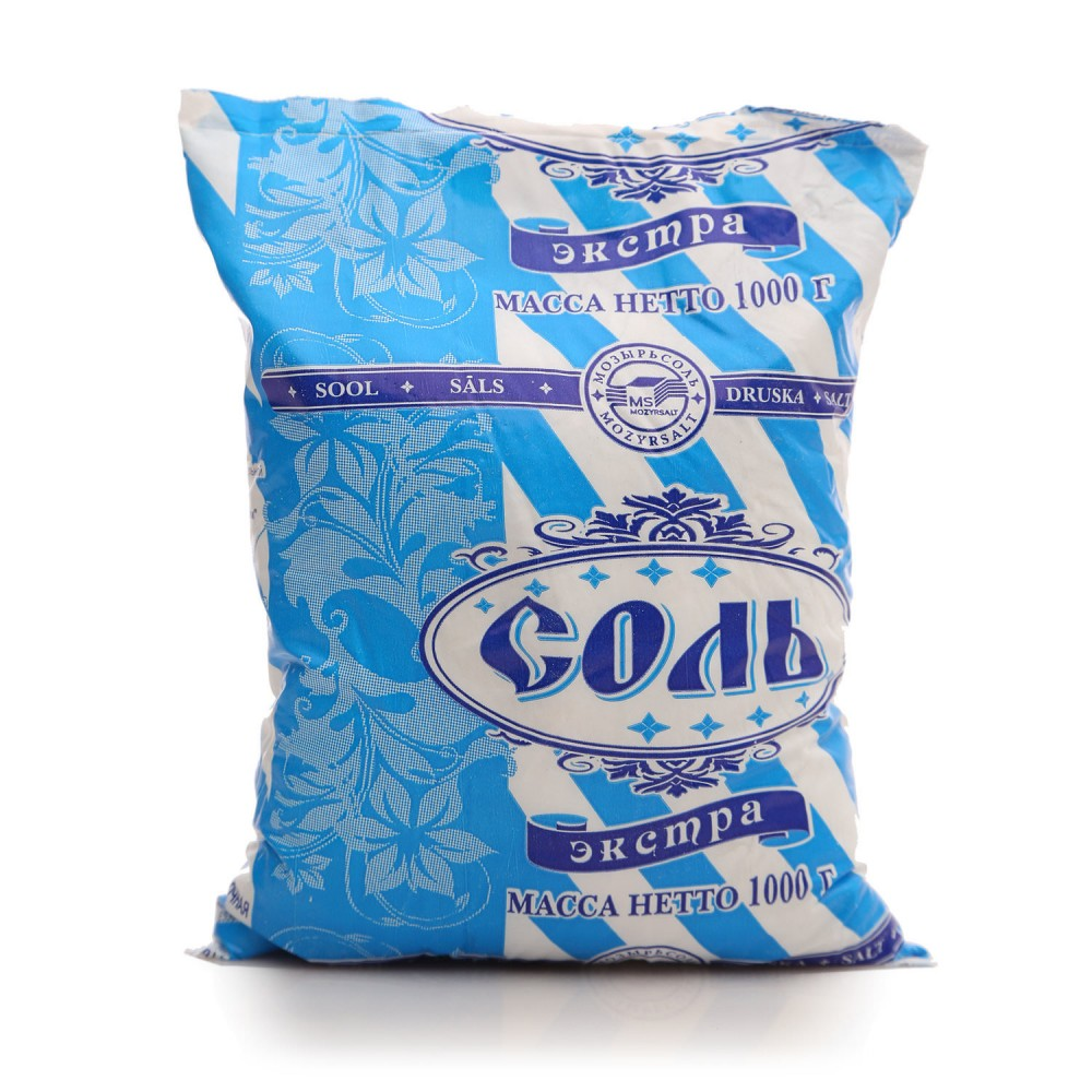 Соль поваренная пищевая ЭКСТРА