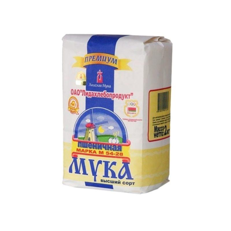 Мука пшеничная Лидская М54-25 сорт высший