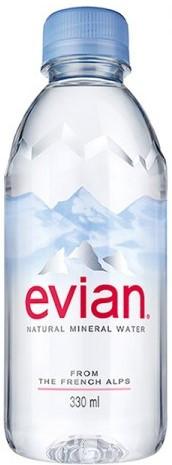 Вода минеральная натуральная Evian