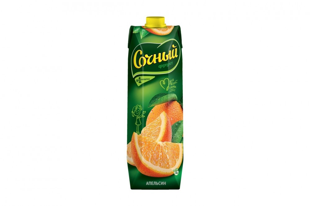 """Апельсиновый нектар """"Сочный"""""""