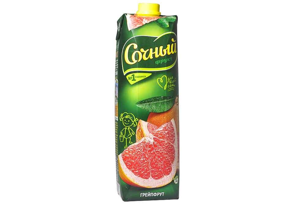 """Грейпфрутовый нектар """"Сочный"""""""