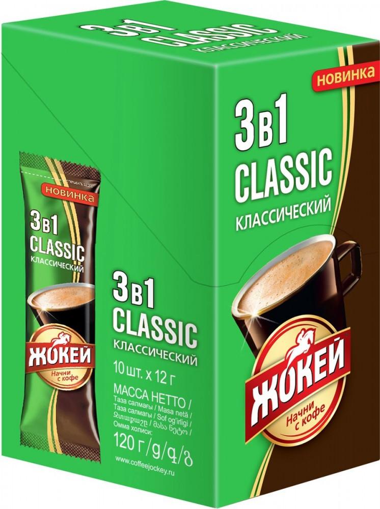 Напиток кофейный растворимый  Жокей 3 в 1 Классический