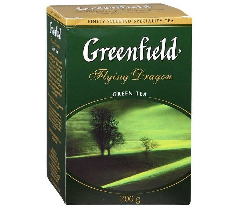 Чай зелёный байховый Гринфилд Флаинг Драгон